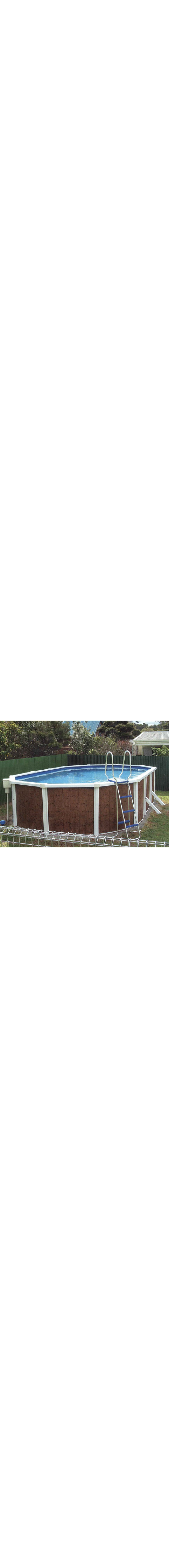 Big-Six Swimming Pool - installed above-ground.